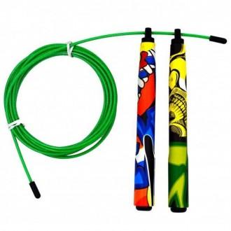 Rychlostní švihadlo Picsil Jump Rope ABS 2.0 Special Edition - Graffiti
