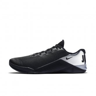 Pánské boty Nike Metcon 5 - černo-stříbrná