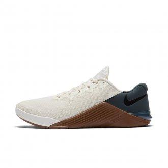 Pánské boty Nike Metcon 5 - bílo-hnědé