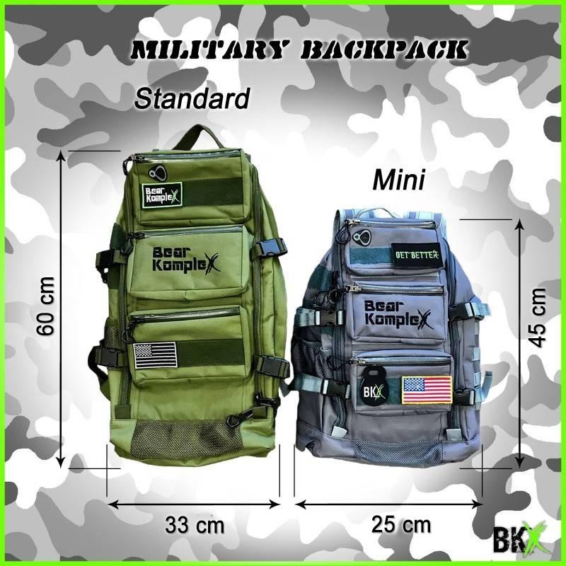 Batoh Bear KompleX Military Backpack - standard  šedivý