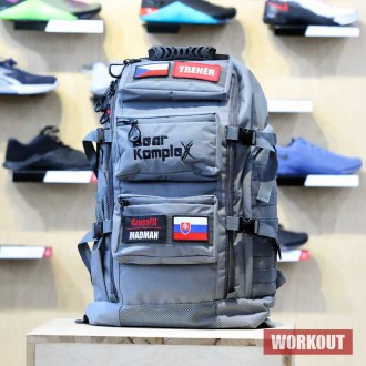 Batoh Bear KompleX Military Backpack - šedivý