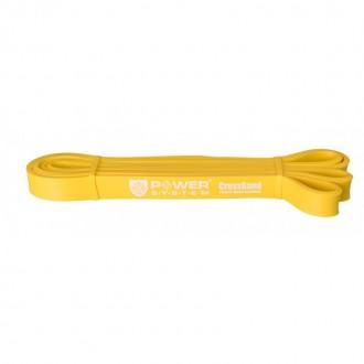 Posilovací guma CROSS BAND LEVEL1 4-25 Kg - žlutá