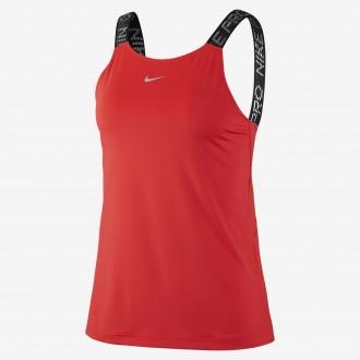 Dámský top Nike Pro - Laserově rudá