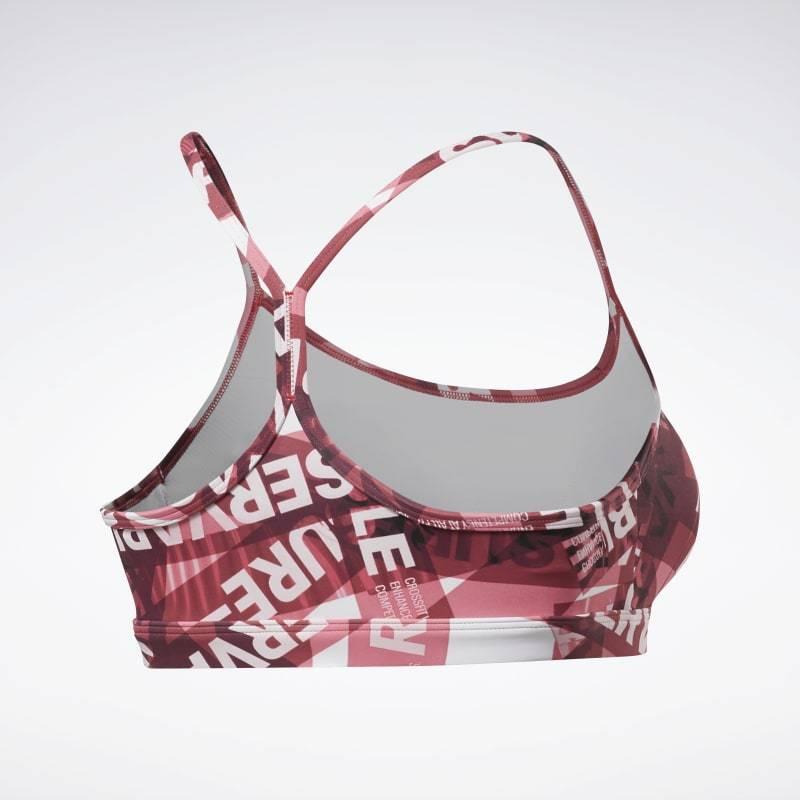 Podprsenka Reebok CrossFit Skinny Bra AOP - FS7634