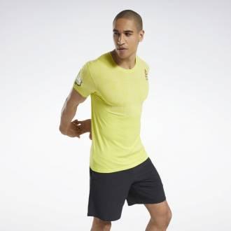 Pánské tričko Reebok CrossFit MyoKnit Tee Games - FS7665