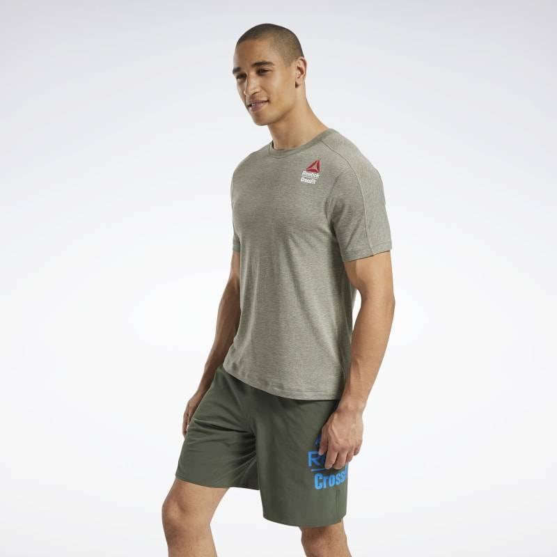 Pánské tričko Reebok CrossFit AC + Cotton Tee Games - FU1778