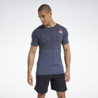 Pánské tričko Reebok CrossFit MyoKnit Tee Games - FU1865