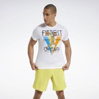 Pánské tričko Reebok CrossFit Fittest On Earth Tee - FU1868