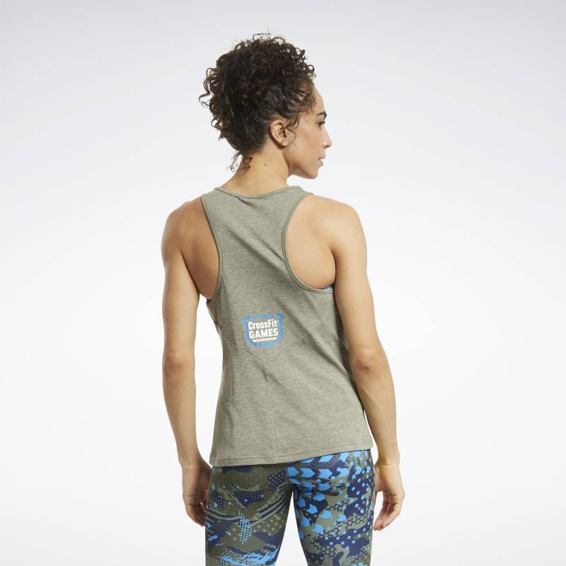 Dámský top Reebok CrossFit AC + Cotton Tank Games - FU2107
