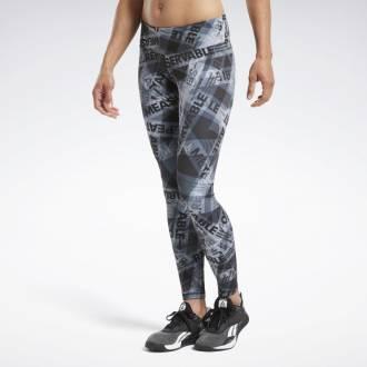 Dámské legíny Reebok CrossFit Lux Tight AOP - FU2169