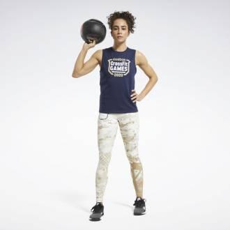 Dámský top Reebok CrossFit Games Crest Tank - FU2547