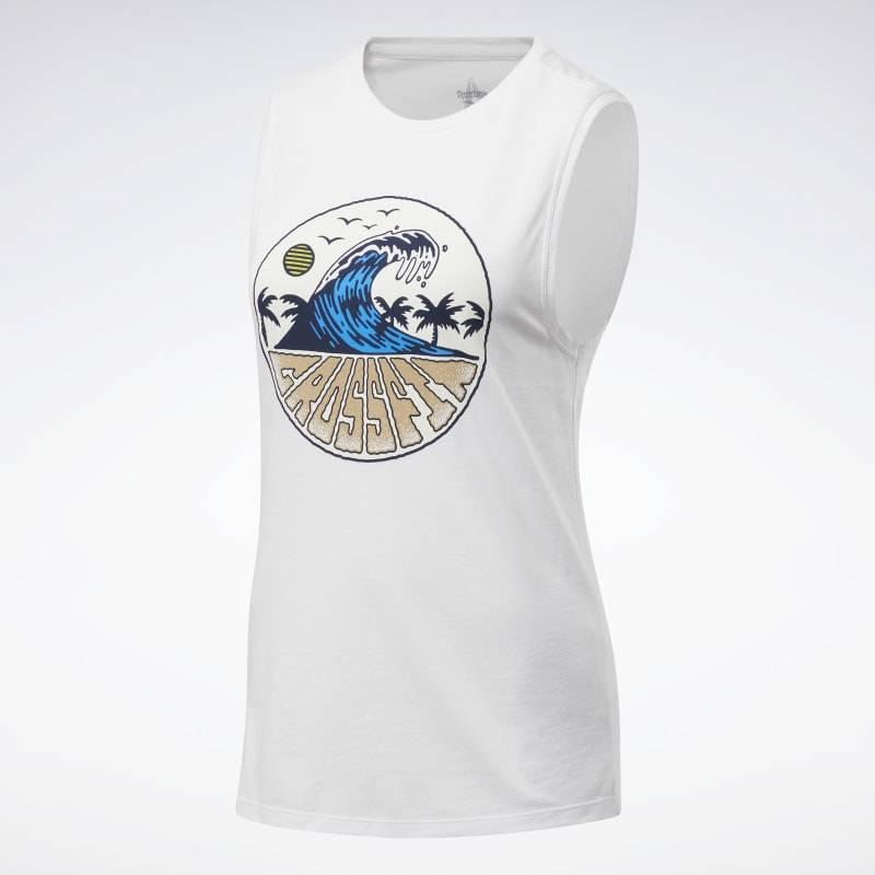 Dámský top Reebok CrossFit Tidal Wave Muscle - FU2550