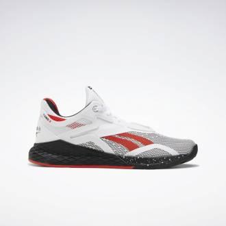 Dámské boty Reebok Nano X - Bílá/Černá/červená - FV6759