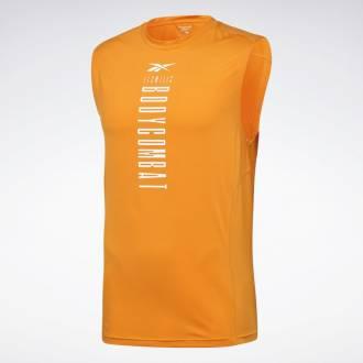 Pánské tričko Les Mills Body Combat Muscle Tank - GE1023