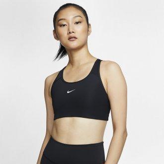 Dámská podprsenka Nike Swoosh - černá