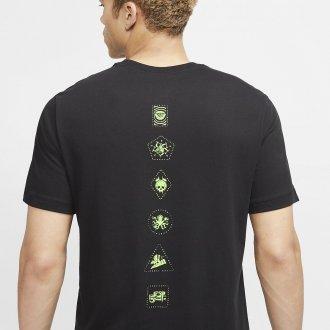 Pánské tričko Nike Dri-FIT - Villains Edition - černé / zelené