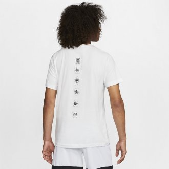Pánské tričko Nike Dri-FIT - Villains Edition - bílé