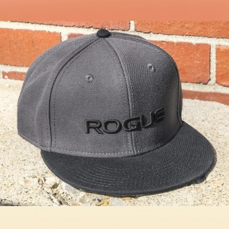 Kšiltovka Rogue Flat Bill - šedivá
