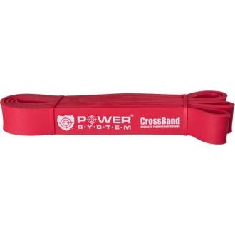 Odporová Cross guma POWER SYSTEM 15-40 Kg - červená