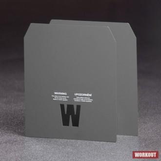 2 x 3.73 kg pláty pro zátěžovou vestu WORKOUT - WOMAN MURPH (i s vestou 20 lb)