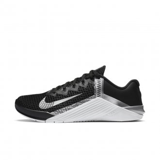 Dámské tréninkové boty Nike Metcon 6 - metellic silver