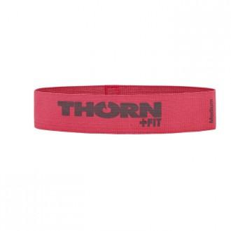 Textilní odporová guma LADY medium  tmavě růžová -18 Kg