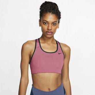 Dámská sportovní podprsenka Nike Swoosh - medium support pink