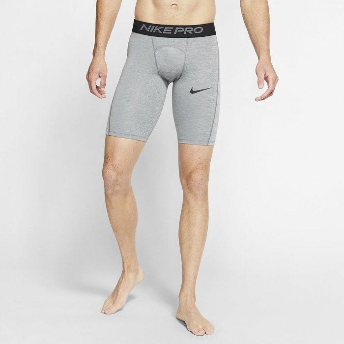 Pánské šortky Nike Pro Mens Training - šedé