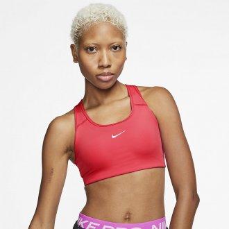 Dámská podprsenka Nike Swoosh - červená