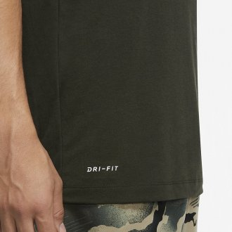 Pánské tričko Nike Athlete camo CU8512-355