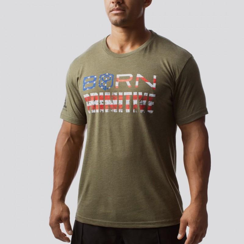Pánské tričko The Patriot Brand Tee (OD Green)