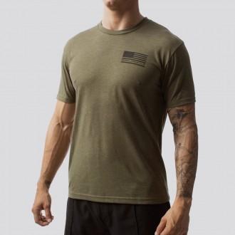 Pánské tričko The American Protector 2.0 T-Shirt (Military Green)