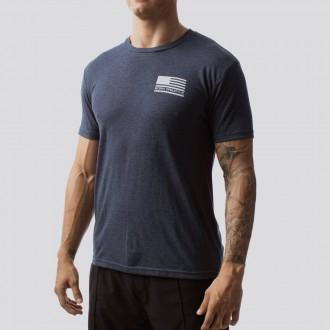Pánské tričko The American Protector 2.0 T-Shirt (Navy)