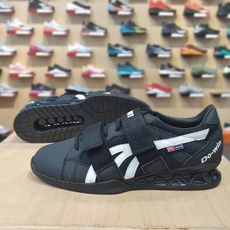 Pánské vzpěračské boty WORKOUT - black/white