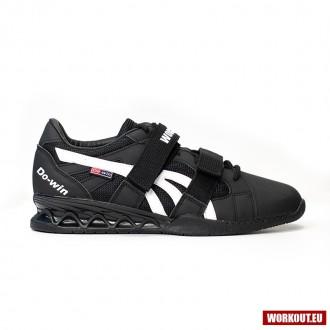 Vzpěračské boty WORKOUT - black/white