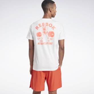 Pánské tričko Reebok Weightlifting Tee - GI8430