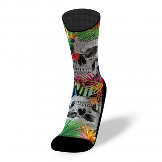 Ponožky JUNGLE SKULL - Socks