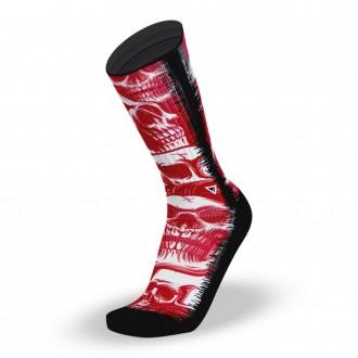 Ponožky SCARLET SKULLS - Socks