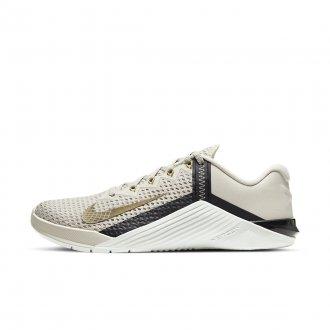 Dámské tréninkové boty Nike Metcon 6 - White/Metallic Gold