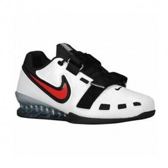 Vzpěračské boty Nike Romaleos 2 - white/comet red-black