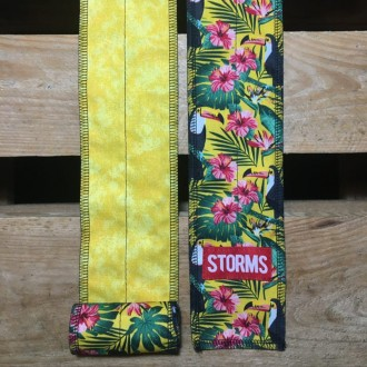 Zpevňovač zápěstí STORMS Wrist Wraps - Tucan Yellow