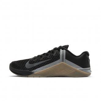 Pánské tréninkové boty Nike Metcon 6 - Black/Iron Grey-Gum Dark Brown