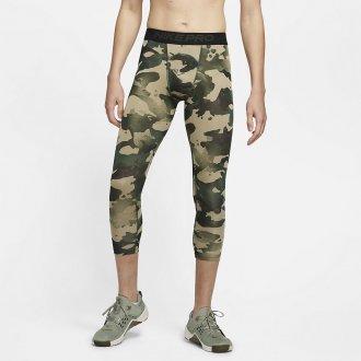 Pánské legíny Nike Pro Mens 3/4 Camo
