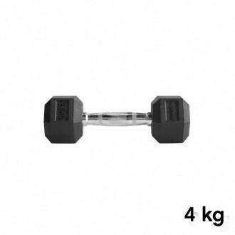 Jednoručka Hexhead Dumbbell Thornfit - 4 kg