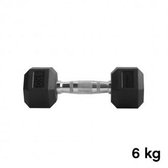 Jednoručka Hexhead Dumbbell Thornfit - 6 kg