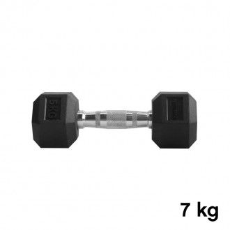 Jednoručka Hexhead Dumbbell Thornfit - 7 kg