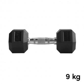 Jednoručka Hexhead Dumbbell Thornfit - 9 kg