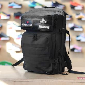 Military batoh WORKOUT - černý