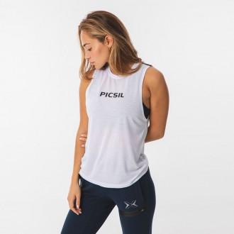 Dámský top Picsil Core - white