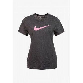 Dámské tréninkové tričko Nike Dri-FIT - pink swoosh